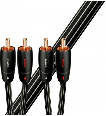 AudioQuest Tower 3.5mm to RCA Cable