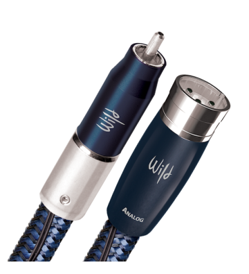 AudioQuest Wild Blue Yonder RCA/XLR Cable