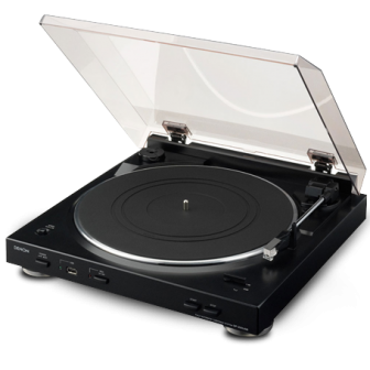 Denon DP-200 USB Fully Automatic Turntable with MP3 Encoder