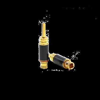 Montaudio Arrowtown CF-1 Gold-Plated BFA Banana Connectors