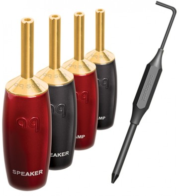 AudioQuest SureGrip 500 Speaker Cable Connectors