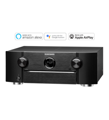Marantz SR6014 4K AV Receiver with HEOS