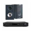 NAD C338 Streaming Amp + Cabasse Antigua MC170