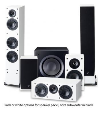 Paradigm Monitor SE 3000F 5.1 Speaker Package